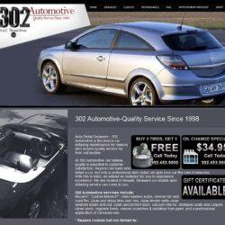 Web Design: 302 Automotive