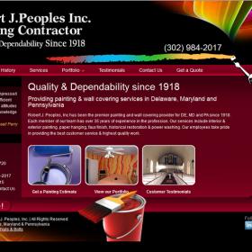Web Design: RJ Peoples