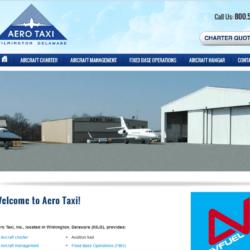 Web Design: Aero Taxi