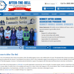 Non-Profit Web Design: After-The-Bell