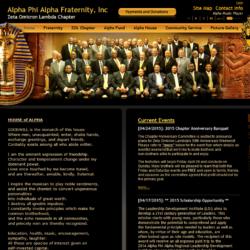 Non-Profit Web Design: Alpha Phi Alpha ZOL Chapter