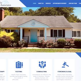 Web Design: Atlantic Psych Associates