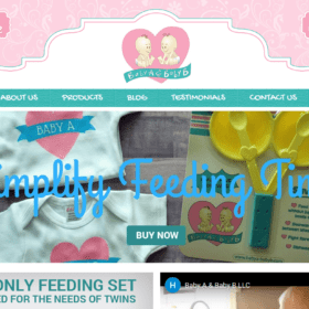 Website Design: Babya-Babyb