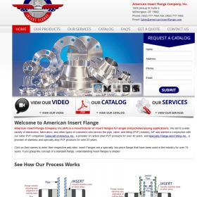Web Design: American Insert Flange