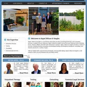 Web Design: Appel, Wilson and Vaughn