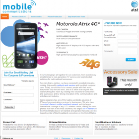 Web Design: Mobile Communications, AT&T Authorized Retailer