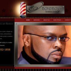 Web Design: Bond Boys Barbershop