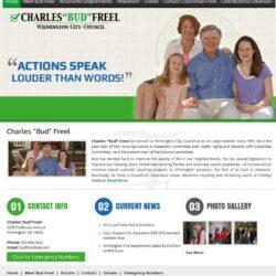 Government Web Design: Bud Freel, Wilmington DE City Council