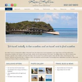 Web Design: Kim Heflin Travel