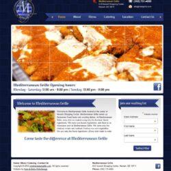 Web Design: Mediterranean Grille