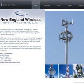 Web Design: New England Wireless