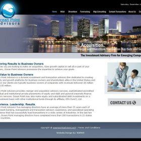 Web Design: Ocean Point Advisors
