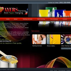 Web Design: Sayers Painting and Paperhanging