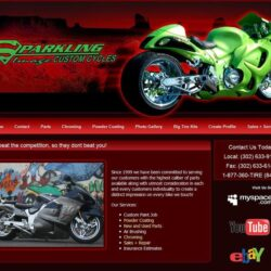 Web Design: Sparkling Image Custom Cycles