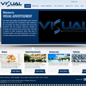 Web Design: Visual Advertisement