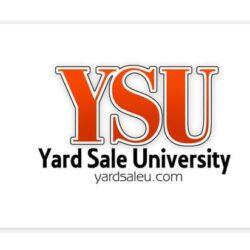 Logo Design: Yard Sale University