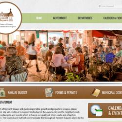 Government Web Design: Borough of Kennett Square