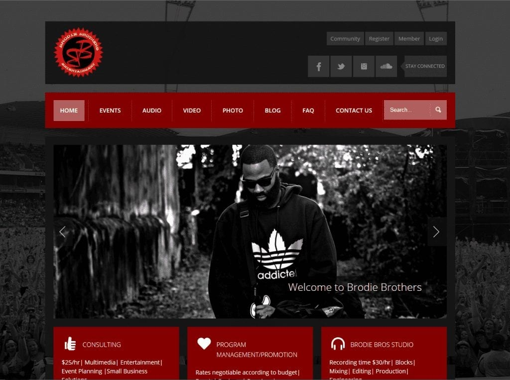 Web Design: Brodie Brothers