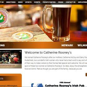 Web Design: Catherine Rooney's