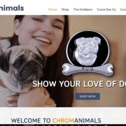 Web Design: Chrom Animals