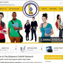 Non-Profit Web Design: Delaware Champ Network