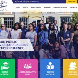 Non-Profit Web Design: Delaware Multicultural and Civic Organization (DEMCO, Inc.)