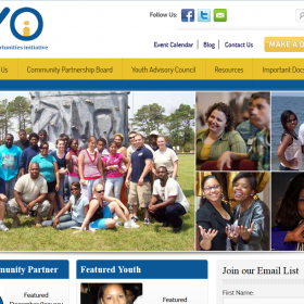Non-Profit Web Design: Delaware Youth Opportunities Initiative