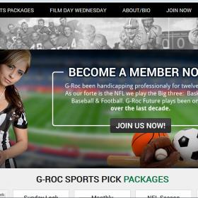 Web Design: G-Roc Sports