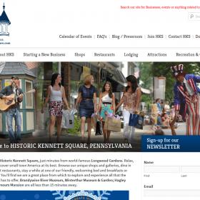 Non-Profit Web Design: Historic Kennett Square