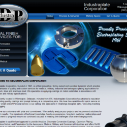 Web Design: Industraplate
