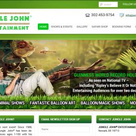 Web Design: Jungle John