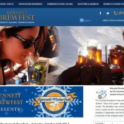 Web Design: Kennett Brewfest