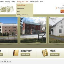Government Web Design: Kennett Township