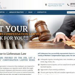 Web Design: Liebesman Law
