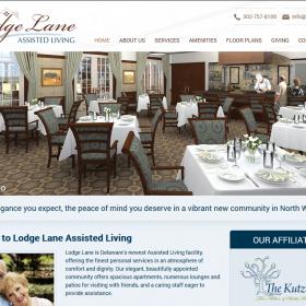 Web Design: Lodge Lane