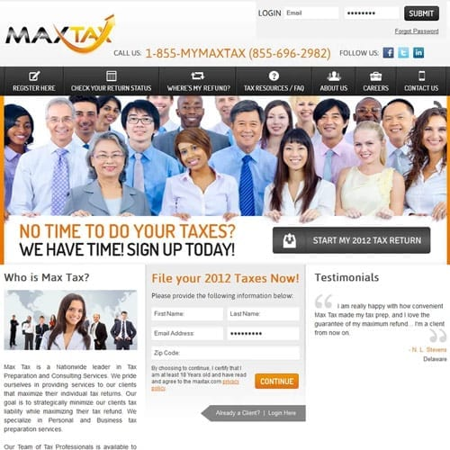 My Max Tax