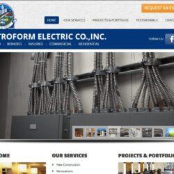 Web Design: Metroform Electric Co.