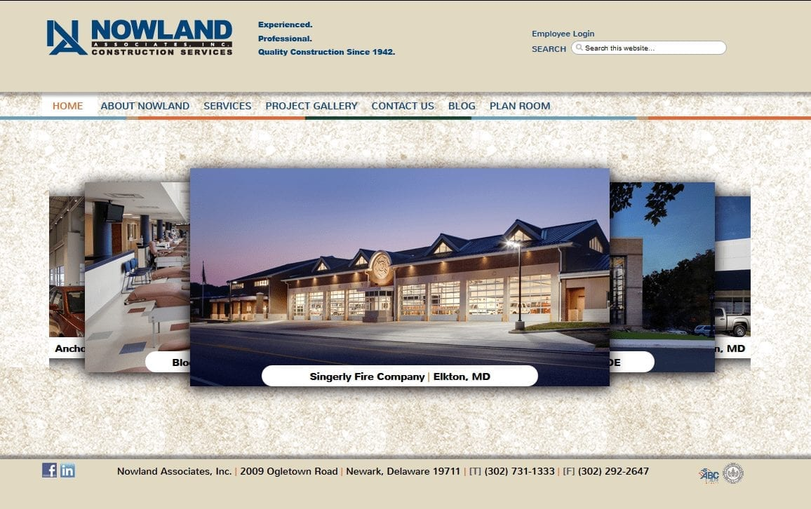Web Design: Nowland Associates