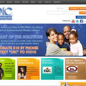 Web Design: OIC of America