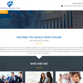 Web Design: Predictive Analytics Group