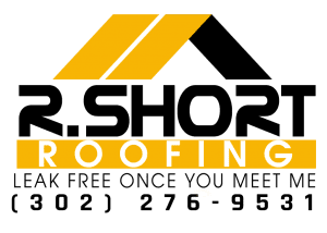Logo Design: R. Short Roofing (yellow)