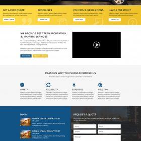 Web Design: Sunflower Luxury Touring Services