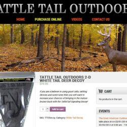 Web Design: Tattletail Outdoors
