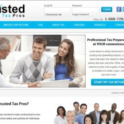 Web Design: Trusted Tax Pros