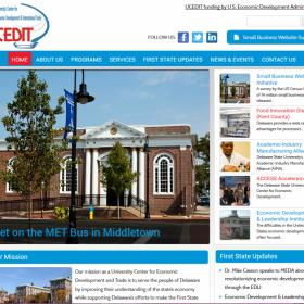 Non-Profit Web Design: University Center for Economic Development and Trade (UCEDIT)