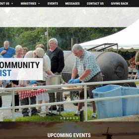 Non-Profit Web Design: White Clay Creek Presbyterian Church